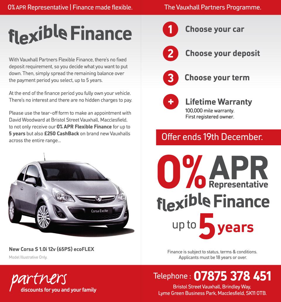 Vauxhall Leaflet Inside